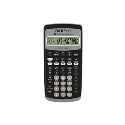 Texas Instruments BAIIPLUS BAIIPLUS Financial Calculator