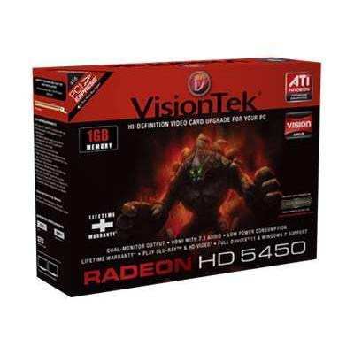 Click here for Visiontek 900320 Radeon 5450 SFF - Graphics card -... prices