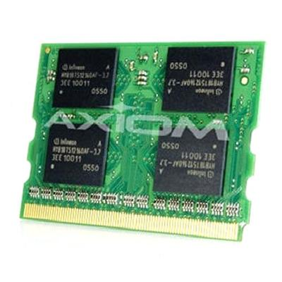 Axiom Memory VGP-MM1024I-AX AX - DDR - 1 GB - MicroDIMM 172-pin - 333 MHz / PC2700 - for Sony VAIO VGN-T15  T16  T17  T30  T340  T350  T36  T360  T37  T50  T51