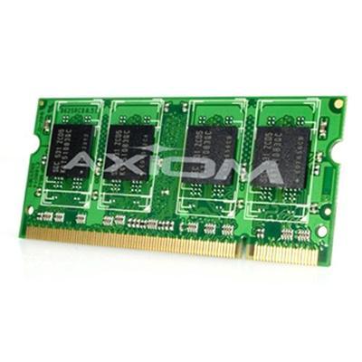 Axiom Memory A3418016-AX AX - DDR3 - 2 GB - SO-DIMM 204-pin - 1333 MHz / PC3-10600 - unbuffered - non-ECC - for Dell Latitude E5410  E5510  E6510  Precision Mob