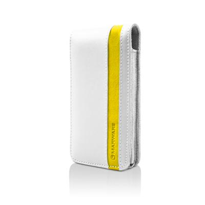 ACCENT FOR IPHONE 4 - WHITE/YELLOW
