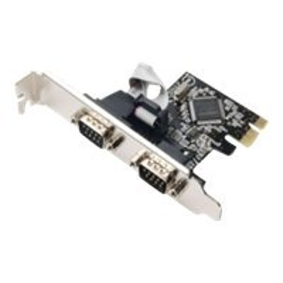 Syba Multimedia SD-PEX15022 SD-PEX15022 - Serial adapter - PCIe low profile - RS-232 x 2