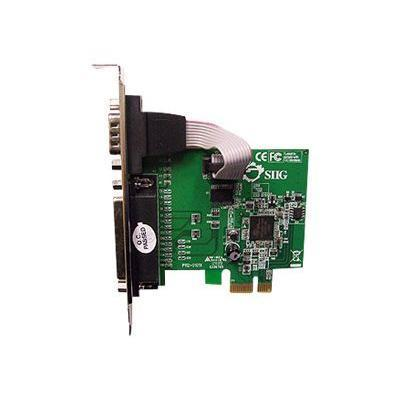 SIIG JJ-E00011-S3 Cyber 1S1P - Parallel/serial adapter - PCIe - parallel  RS-232
