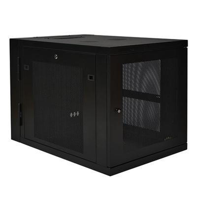 TrippLite SRW12US33 12U Wall Mount Rack Enclosure Cabinet Wallmount Hinged 33 Depth