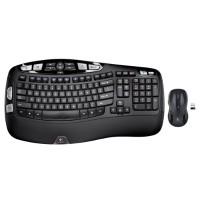 Logitech Mk550 Wireless Wave Combo with Keyboard and Laser Mouse