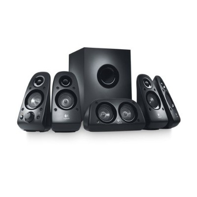 Logitech 980-000430 Surround Sound Speakers Z506 - Black