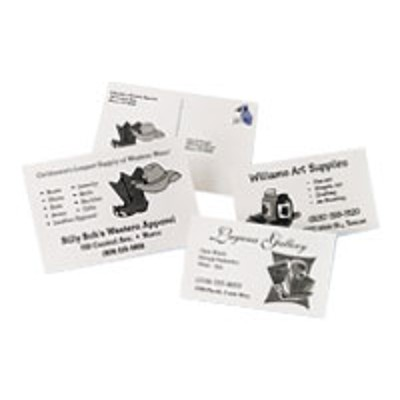 Avery Dennison 8387 Ink Jet Post Cards
