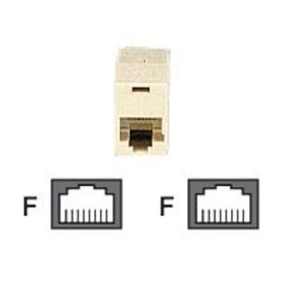Black Box FM016 Network coupler - RJ-45 (F) to RJ-45 (F)