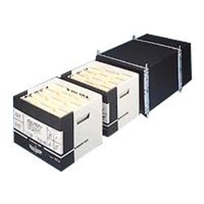 Fellowes 12602 Media storage box black