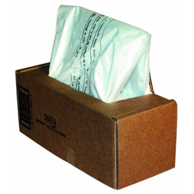 Fellowes 36054 Powershred Waste bag pack of 50 for Powershred C 120 C 120C C 220 C 220C