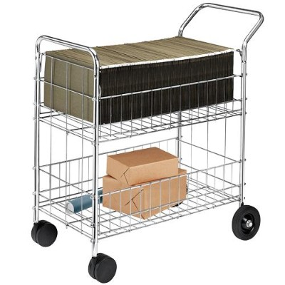 Fellowes 40912 Wire Mail Cart