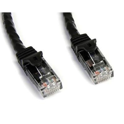 StarTech.com N6PATCH35BK 35ft Cat6 Patch Cable with Snagless RJ45 Connectors - Black - Cat6 Ethernet Patch Cable - 35ft UTP Cat6 Patch Cord