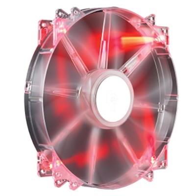 Cooler Master R4-LUS-07AR-GP MegaFlow 200 - Case fan - 200 mm - red