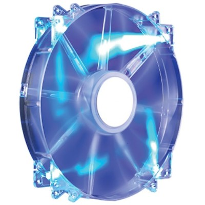 Cooler Master R4-LUS-07AB-GP MegaFlow 200 - Case fan - 200 mm - blue