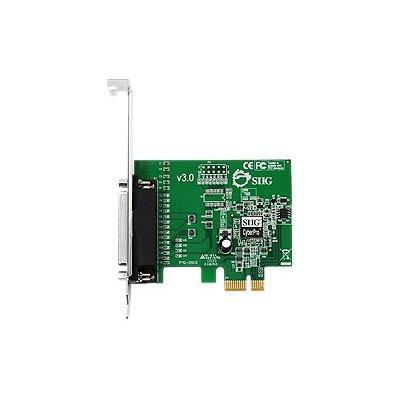 SIIG JJ-E01011-S3 JJ-E01011-S3 - Parallel adapter - PCIe low profile - parallel