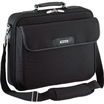 "Targus OCN1 15.4"" Traditional Notepac Laptop Case - Black"