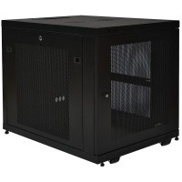 TrippLite 12U Rack Enclosure Server Cabinet Doors & Sides 300lb Capacity