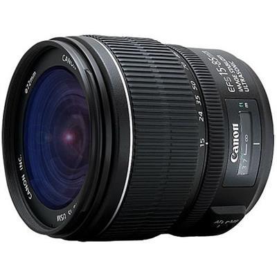 Canon 3560B002 EF-S - Zoom lens - 15 mm - 85 mm - f/3.5-5.6 IS USM -  EF-S - for EOS 1000  40  450  50  500  7D  Kiss F  Kiss X2  Kiss X3  Rebel T1i  Rebel XS