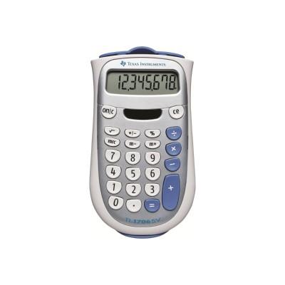Texas Instruments TI1706SV TI 1706 SV Pocket calculator 8 digits solar panel battery