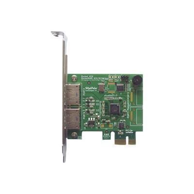 High Point Technologies ROCKETRAID622 RocketRAID 622 - Storage controller (RAID) - eSATA 6Gb/s low profile - 600 MBps - RAID 0  1  5  10  JBOD - PCIe 2.0 x1
