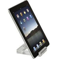 Targus Mini Stand for Apple iPad, iPad 2, new iPad (3rd generation), Motorola Xoom, Samsung Galaxy, HP TouchPad, Asus Transformer, Toshiba Thrive - Clear