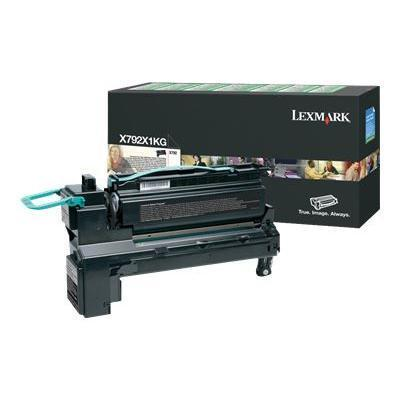 Click here for Lexmark X792X1KG Extra High Yield - black - origin... prices