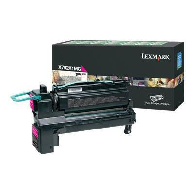 Lexmark X792X1MG Extra High Yield magenta original toner cartridge LCCP LRP for X792de 792dte 792dtfe 792dtme 792dtpe 792dtse