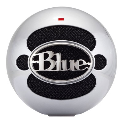 Blue Microphones SNOWBALL-BRSHEDALUMI Snowball USB Microphone - Brushed Aluminum