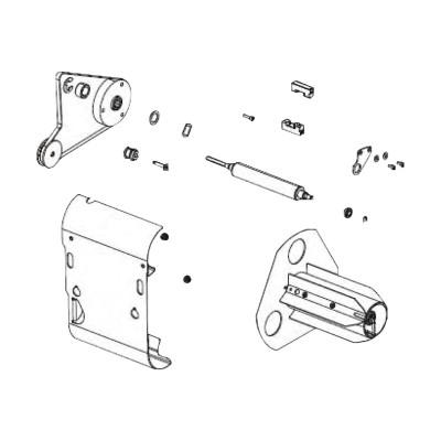 Zebra Tech P1008479 Media rewind option kit