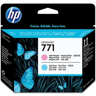 HP Inc. CE019A 771 - Light magenta  light cyan - printhead - for DesignJet Z6200  Z6600 Production Printer  Z6800 Photo Production Printer