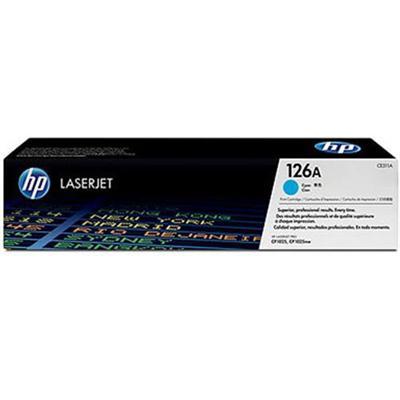 126A Cyan LaserJet Print Cartridge