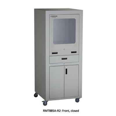 Pc Shelter System/monitor/printer Protective Cabinet