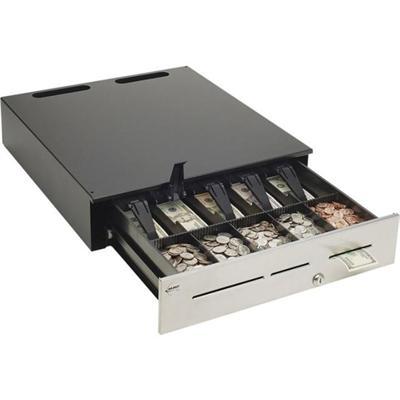 APG Cash Drawer JB320 BL1816 C Heavy Duty Cash Drawers Series 4000 Electronic cash drawer black