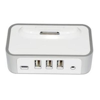Cyberpower CPH320AP iPod/iPhone Power Charging Dock & 3-Port USB Hub 8236830