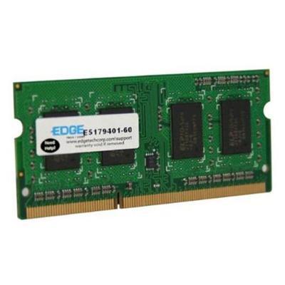 Edge Memory PE228590 2GB (1X2GB) PC310600 204 Pin DDR3 So Di