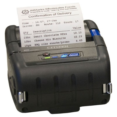 Citizen CMP 30U CMP 30 Receipt printer thermal line Roll 3.15 in 203 dpi up to 236.2 inch min USB serial