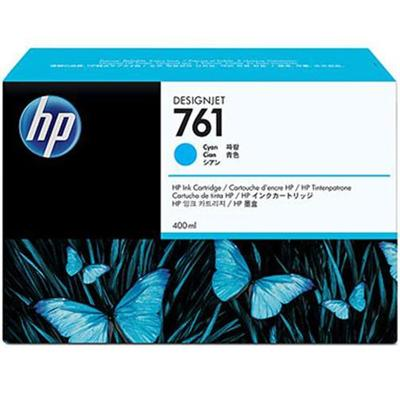 HP Inc. CM994A 761 400 ml cyan original ink cartridge for DesignJet T7100 T7200 Production Printer