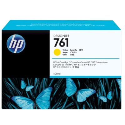 HP Inc. CM992A 761 - 400 ml - yellow - original - ink cartridge - for DesignJet T7100  T7200 Production Printer