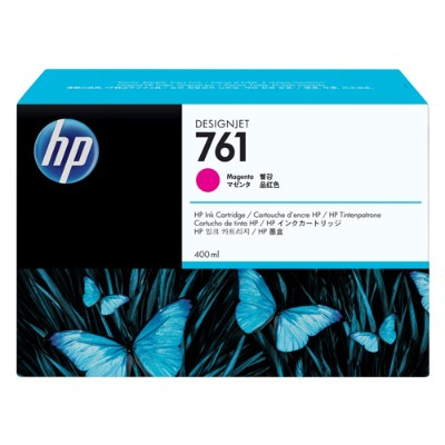 HP Inc. CM993A 761 - 400 ml - magenta - original - ink cartridge - for DesignJet T7100  T7200 Production Printer