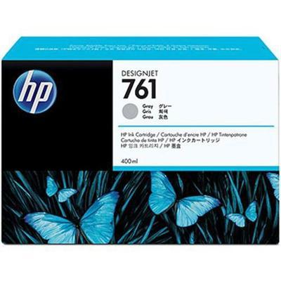 HP Inc. CM995A 761 - 400 ml - gray - original - ink cartridge - for DesignJet T7100  T7200 Production Printer