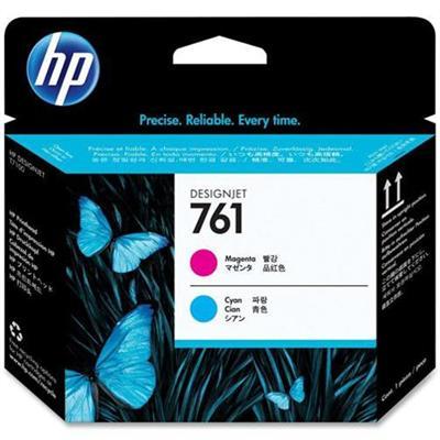 HP Inc. CH646A 761 - Cyan  magenta - printhead - for DesignJet T7100  T7200 Production Printer