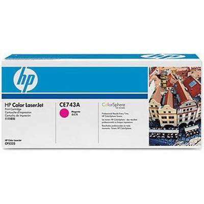 HP Inc. CE743A 307A Magenta original LaserJet toner cartridge CE743A for Color LaserJet Professional CP5225 CP5225dn CP5225n
