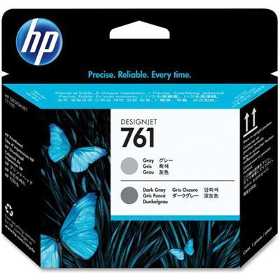 HP Inc. CH647A 761 - Gray  dark gray - printhead - for DesignJet T7100  T7200 Production Printer