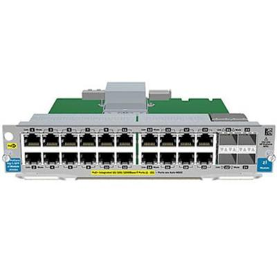 Hewlett Packard Enterprise J9548A Expansion module Gigabit Ethernet x 20 2 x SFP for Aruba 5406 5412 8206 8212