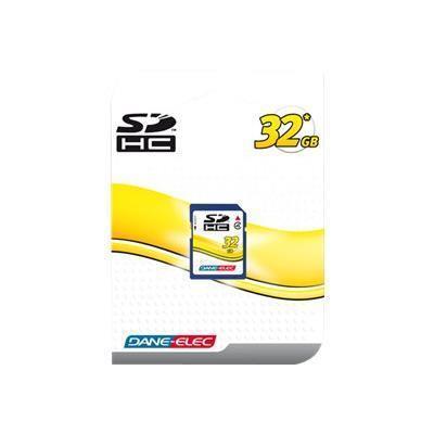 Dane-Elec DA-SD-32GB-R Flash memory card - 32 GB - Class 4 - SDHC