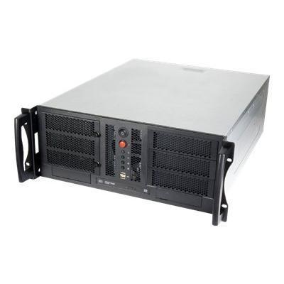 Chenbro America RM42300 F RM42300 Rack mountable 4U SSI CEB non hot swap no power supply ATX PS 2 USB