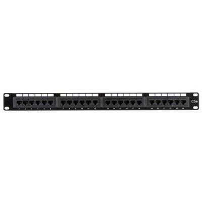 Black Box JPM5E24A 24-Port Cat5e Patch Panel