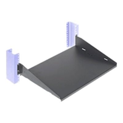 Innovation First 2USHL-022HALF-13DS RackSolutions - Rack shelf - black - 2U - 19