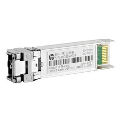 Hewlett Packard Enterprise J9153A X132 SFP transceiver module 10 Gigabit Ethernet 10GBase ER LC for Aruba 2930F 24G 2930F 48G 5406