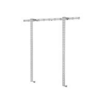 Peerless IWB600-2SB IWB600-2SB - Wall mount for interactive whiteboard - silver  powder coat - for SMART Board Interactive Whiteboard SB660  Interactive Whitebo